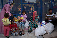 A family of Syrian Kurds that fled from the town of Kobani to Suruç in Turkey escaping fighting between Kurdish forced and Islamic State militants.