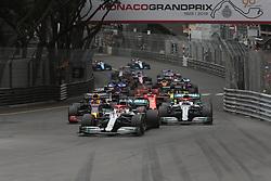 May 26, 2019 - Monte Carlo, Monaco - xa9; Photo4 / LaPresse.26/05/2019 Monte Carlo, Monaco.Sport .Grand Prix Formula One Monaco 2019.In the pic: start (Credit Image: © Photo4/Lapresse via ZUMA Press)