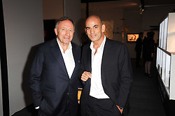 Private View of the Pavilion of Art & Design London 2010 held in Berkeley Square, London on 11th October 2010.<br /> Picture Shows:- Left to right, LAURENCE GRAFF and GUY DELLAL.