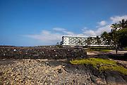 Hapaialii Heiau, Kahaluu Bay, Kailua-Kona, Island of Hawaii