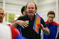 20170524 NED: 2018 FIVB Volleyball World Championship qualification, Koog aan de Zaan<br />Dieter Scholl, headcoach of Luxembourg<br />©2017-FotoHoogendoorn.nl / Pim Waslander