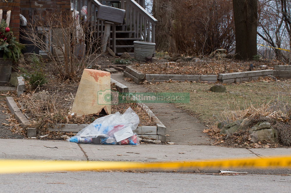 """Toronto, CAN., 29 Jan 2018 - Police have discovered several planters containing human remains at multiple landscaping client homes. Toronto landscaper Bruce McArthur, 66, was charged with an additional three First-Degree Murders, on January, 29th, 2018, in addition to the two charges at the time of his arrest on January, 18th, 2018. Police have found the remains of three victims at one of 35 sites where McArthur had worked as a landscaper. Now being described by Toronto Police as a """"serial killer"""", a description they were not prepared to use at the time of his arrest.VICTOR BIRO/ZumaPress"""