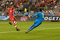 September 3, 2017 - Toronto, Ontario, Canada - Anthony Jackson-Hamel score the  goal during the Canada-Jamaica Men's International Friendly match at BMO Field in Toronto, Canada, on 2 September 2017. (Credit Image: © Anatoliy Cherkasov/NurPhoto via ZUMA Press)