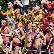 NLD/Amsterdam/20120804 - Canalparade tijdens de Gaypride 2012,