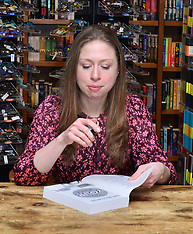 Chelsea Clinton signs her new book - 21 March 2018