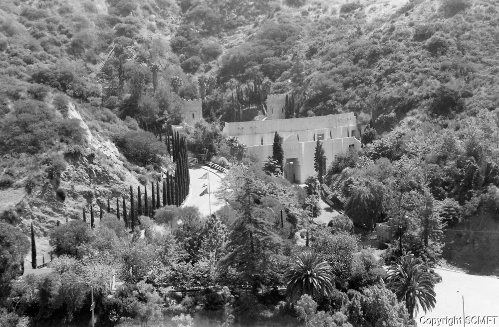 1973 Pilgrimage Play Theater on the east side of the Cahuenga Pass.