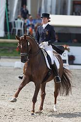 Vanommeslaghe Laurence, (BEL), Avec Plaisir<br /> Belgium Championship Dressage - Hulsterlo Meerdonk 2015<br /> © Hippo Foto - Dirk Caremans<br /> 31/07/15