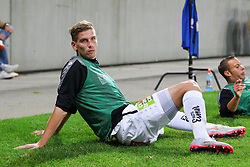 Tadej Trdina of WAC at warming up during football match between WAC Wolfsberg (AUT) and  Borussia Dortmund (GER) in First leg of Third qualifying round of UEFA Europa League 2015/16, on July 30, 2015 in Wörthersee Stadion, Klagenfurt, Austria. Photo by Vid Ponikvar / Sportida
