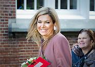 Queen Maxima at jubilee, Leiden 17-02-2016