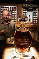 Glengoyne Highland Single Malt Scotch Whisky. Visit and tasting at the Glengoyne Distillery in Scotland. Image taken with a Nikon 1 V2 camera and 6.7-13 mm VR lens (ISO 800, 13 mm, f/5.6, 1/50 sec). Semester at Sea Spring 2013 Enrichment Voyage