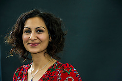 Pictured: Yasmin Khan is a British historian and writer, and University Lecturer in British History (18th to early 20th century) based in the Department for Continuing Education and a member of the History Faculty<br /> Book fanatics headed to Charlotte Square in Edinburgh which is the hub of the international Book Festival to meet the authors and also to meet up with fellow fans of the printed word.<br /> <br /> <br /> Ger Harley | EEm 22 August 2017