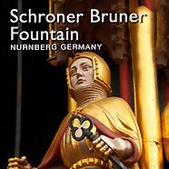 Schöner Brunnen Gothic Fountain, Nuremberg, Photos, Pictures and Images