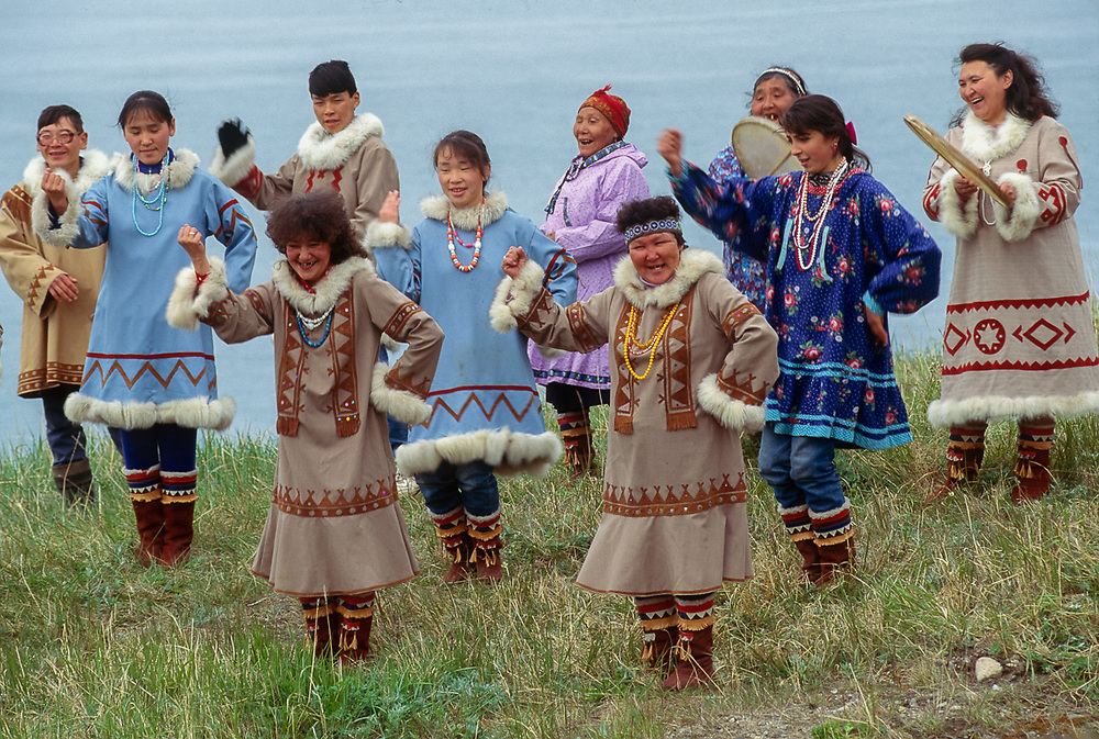 Native dancers, Village of Sireniki, Chukotsk Peninsula, Northeast Russia Sireniki is the only historically Yupik settlement in Chukotka. The village has been established on the same site for 2-2,500 years, and originated because it was situated on the migration route of whales. It is also the only pre-historic village in Chukotka to have been continuously occupied to the present day.