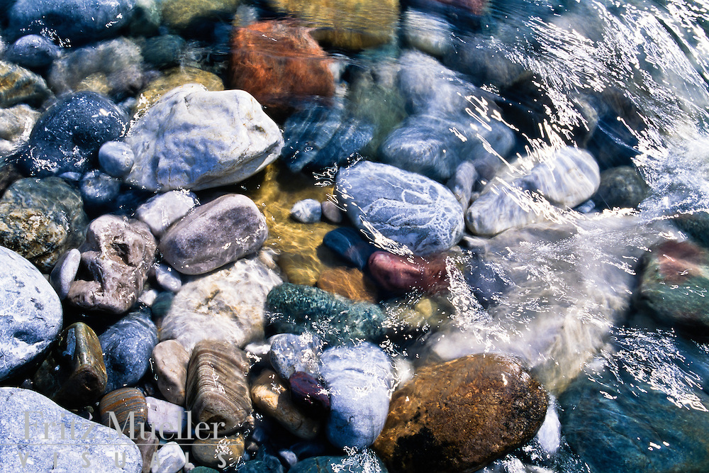 Clear waters of the Wind River, Peel Watershed