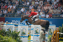 "Lansink Jos (BEL) - Spender S<br /> 3th of the ""Warsteiner Preis von Europa""<br /> CHIO Aachen 2009<br /> Photo © Dirk Caremans"