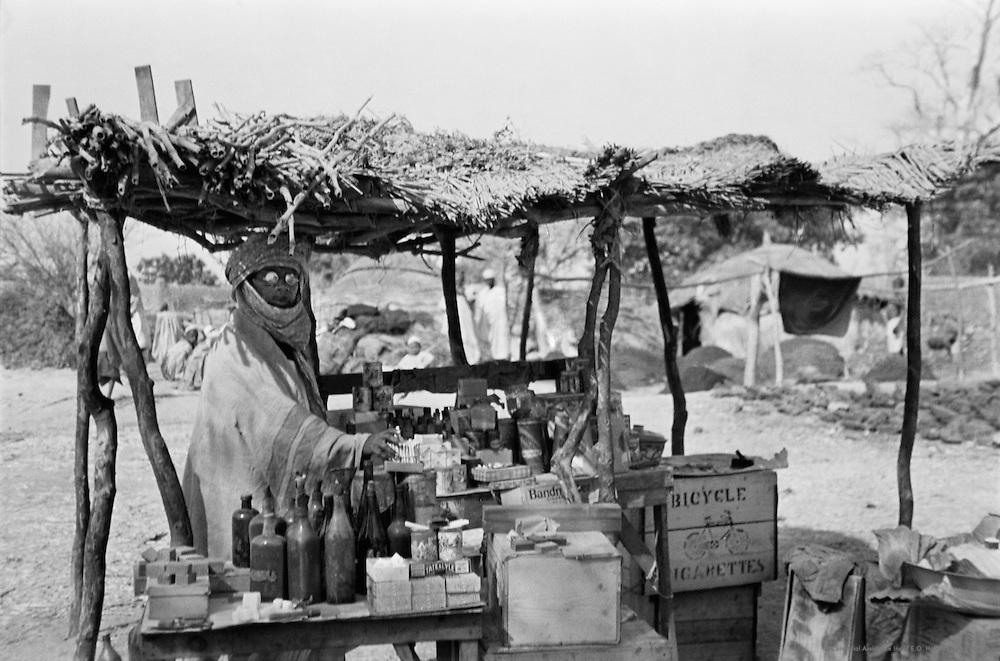 Cigarette Seller, Zaria, Nigeria, Africa, 1937