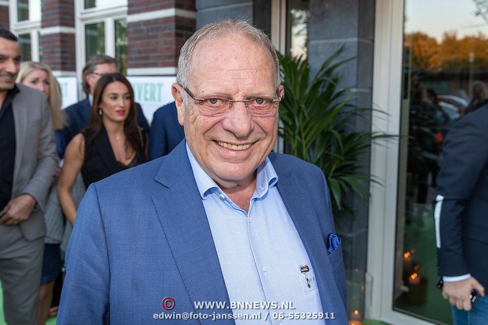 NLD/Amsterdam/20181005 - Benefietdiner Kluivert Dog rescue, Wim Zegwaard