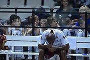 DESCRIZIONE : Bologna Lega A 2015-16 Obiettivo Lavoro Virtus Bologna - Umana Reyer Venezia<br /> GIOCATORE : Phil Goss<br /> CATEGORIA : Pre Game<br /> SQUADRA : Umana Reyer Venezia<br /> EVENTO : Campionato Lega A 2015-2016<br /> GARA : Obiettivo Lavoro Virtus Bologna - Umana Reyer Venezia<br /> DATA : 04/10/2015<br /> SPORT : Pallacanestro<br /> AUTORE : Agenzia Ciamillo-Castoria/G.Ciamillo<br /> <br /> Galleria : Lega Basket A 2015-2016 <br /> Fotonotizia: Bologna Lega A 2015-16 Obiettivo Lavoro Virtus Bologna - Umana Reyer Venezia