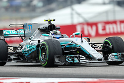 October 20, 2017 - Austin, Texas, U.S - Williams driver Valtteri Bottas (77) of Finland in action before the Formula 1 United States Grand Prix race at the Circuit of the Americas race track in Austin,Texas. (Credit Image: © Dan Wozniak via ZUMA Wire)