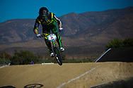#8 (NOBLES Barry) USA at the 2013 UCI BMX Supercross World Cup in Chula Vista