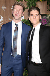 February 20, 2019 - Beverly Hills, CA, USA - LOS ANGELES - FEB 20:  Collins Key, Devan Key at the Global Green 2019 Pre-Oscar Gala at the Four Seasons Hotel on February 20, 2019 in Beverly Hills, CA (Credit Image: © Kay Blake/ZUMA Wire)
