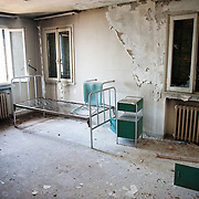 Isola Santa Maria La Grazia Abandoned Hospital...HOW TO LICENCE THIS PICTURE: please contact us via e-mail at sales@xianpix.com or call our offices in Milan at (+39) 02 400 47313 or London   +44 (0)207 1939846 for prices and terms of copyright. First Use Only ,Editorial Use Only, All repros payable, No Archiving.© MARCO SECCHI