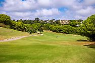 22-10-2018 Almenara Golf Club in Sotogrande, Cádiz, ontworpen door Dave Thomas.<br /> ALMENARA: lekker heuvelachtig maar goed te lopen - foto: hole 8 Los Pinos
