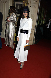 BELLA FREUD at the 2006 Moet & Chandon Fashion Tribute in honour of photographer Nick Knight, held at Strawberry Hill House, Twickenham, Middlesex on 24th October 2006.<br /><br />NON EXCLUSIVE - WORLD RIGHTS