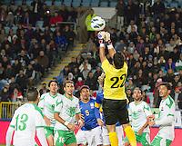 Malmö  2012-10-11  Fotboll  Landskamp  Brazil    - Iraq   :  Iraq 22 Noor Sabri.(Foto: Christer Thorell, Pic-Agency.com) Nyckelord : fotboll , football , soccer , Landskamp , Herrar , Men , Brazil , Iraq , .