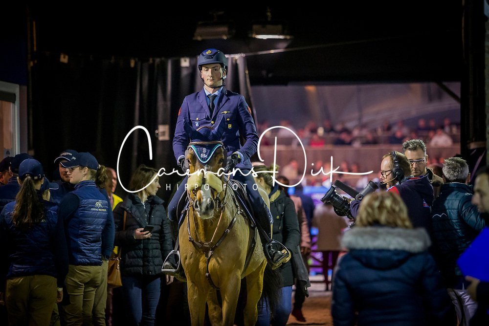 De Luca Lorenzo, ITA, Dinky Toy vd Kranenburg<br /> Jumping Mechelen 2019<br /> © Hippo Foto - Sharon Vandeput<br /> 30/12/19