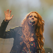 Muscian performs at the London's St Patrick's Day 2017 in Trafalgar Square on 19th March 2017. by See Li