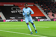 Brice Samba (30) of Nottingham Forset during the EFL Sky Bet Championship match between Bournemouth and Nottingham Forest at the Vitality Stadium, Bournemouth, England on 24 November 2020.