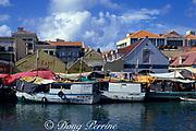 floating market, Willemstad, Curacao, Netherlands Antilles
