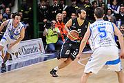 DESCRIZIONE : Campionato 2014/15 Serie A Beko Dinamo Banco di Sardegna Sassari - Upea Capo D'Orlando<br /> GIOCATORE : Gianluca Basile<br /> CATEGORIA : Palleggio Contropiede<br /> SQUADRA : Upea Capo D'Orlando<br /> EVENTO : LegaBasket Serie A Beko 2014/2015<br /> GARA : Dinamo Banco di Sardegna Sassari - Upea Capo D'Orlando<br /> DATA : 22/03/2015<br /> SPORT : Pallacanestro <br /> AUTORE : Agenzia Ciamillo-Castoria/L.Canu<br /> Galleria : LegaBasket Serie A Beko 2014/2015