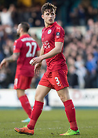 Football - 2016 / 2017 FA Cup - Fifth Round: Millwall vs. Leicester City <br /> <br /> Ben Chilwell of Leicester City at The Den<br /> <br /> COLORSPORT/DANIEL BEARHAM