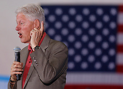 Former President Bill Clinton campaigns for Hillary Clinton during the last few days before the presidential election on Tuesday, November 8, 2016 in in Florida City, FL, USA. Photo by Carl Juste/Miami Herald/TNS/ABACAPRESS.COM