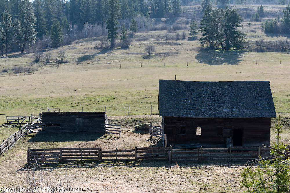 An old barn in the Okanagan near Vernon, B.C.