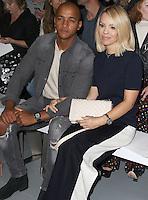 Katie Piper, London Fashion Week SS17 - Jasper Conran, BFC Catwalk Show Space, London UK, 17 September 2016