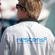 la préparation sur les pontons de la select 6.50 2014