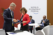Impressions and venue images during the session at the World Forum World Economic Forum on Africa 2019. Copyright by World Economic Forum / Greg Beadle