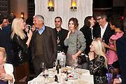 LARRY GAGOSIAN; REMY TESSIER; DASHA ZHUKOVA; NEVILLE WAKEFIELD; JAY JOPLING; RACHEL BARRETT,CAROLE TESSIER, ( SEATED) , Aby Rosen & Samantha Boardman Dinner at Solea,Collins ave,  Miami Beach. 2 December 2010. -DO NOT ARCHIVE-© Copyright Photograph by Dafydd Jones. 248 Clapham Rd. London SW9 0PZ. Tel 0207 820 0771. www.dafjones.com.