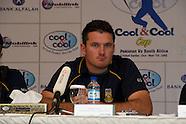 Cricket SA v Pakistan - Press Conference