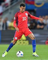 2016.06.20 Saint-Etienne<br /> Pilka nozna Euro 2016<br /> mecz grupy C Slowacja - Anglia<br /> N/z Dele Alli<br /> Foto Lukasz Laskowski / PressFocus<br /> <br /> 2016.06.20 Saint-Etienne<br /> Football UEFA Euro 2016 group C game between Slovaki and England<br /> Dele Alli<br /> Credit: Lukasz Laskowski / PressFocus