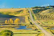 COuntry road<br /> Rosenhof<br /> Saskatchewan<br /> Canada