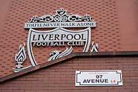 Football - 2021 / 2022 Premier League - Liverpool vs Burnley - Anfield - Saturday 21st August 2021<br /> <br /> <br /> <br /> The renamed 97 avenue in recognition of Andrew Devine who died in July 2021 from his injuries sustained in the Hillsborough tragedy.