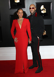2019 Grammy Awards - Arrivals. 10 Feb 2019 Pictured: Alicia Keys, Swizz Beatz. Photo credit: Jaxon / MEGA TheMegaAgency.com +1 888 505 6342