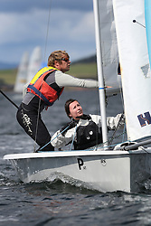 Peelport Clydeport, Largs Regatta Week 2014 Largs Sailing Club based at  Largs Yacht Haven with support from the Scottish Sailing Institute & Cumbrae.<br /> <br /> Fast Handicap, RS 200, 1254, Robbie Burns, Vicki Simpson