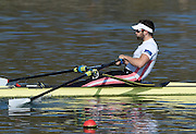 Caversham  Great Britain.<br /> Jonny WALTON. <br /> 2016 GBR Rowing Team Olympic Trials GBR Rowing Training Centre, Nr Reading  England.<br /> <br /> Tuesday  22/03/2016 <br /> <br /> [Mandatory Credit; Peter Spurrier/Intersport-images]