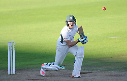 Worcestershire's Ben Cox in action - Mandatory byline: Alex Davidson/JMP - 07966386802 - 23/08/2015 - Cricket - County Ground -Taunton,England - Somerset CCC v Worcestershire CCC - LV= County Championship Division One - Day 3
