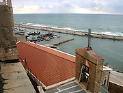 Old Jaffa port - A view from a church, Jaffa, Israel
